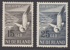 The Netherlands 1951 – Seagull – NVPH LP12/LP13