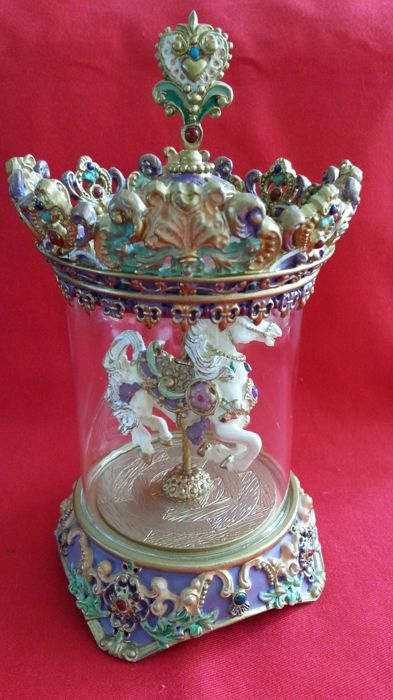"Franklin Mint Music Carousel ""the carousel princess '"