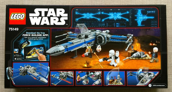 Lego - Star Wars - 75149 - Resistance X-wing fighter - (2016 ...