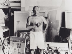 Unknown/ Pablo Picasso - Cannes - c.1950's