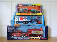 Lesney Matchbox Super Kings - Scale circa 1/50 - Lot with 3 items K-3, K-40 and K-112