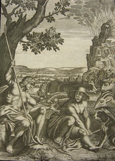 English School (17th century) - Pastorale scene - ca. 1660