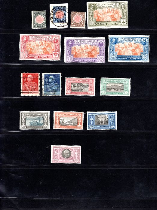 Italy 1921 till 1939 - Collection lot of series/sets