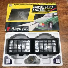 Raydyot Rally Spotlights; Mint in original packaging - England circa 1980