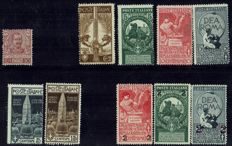 Kingdom of Italy, 1979/1929 – 10 Complete Period Series + 2 Singles