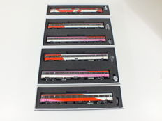 LS Models H0 - 44 065/66/44 056/44 068 - six-piece Hispeed Benelux stam of the NS