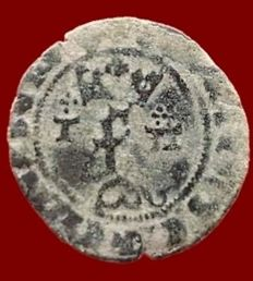 Spain - Catholic Kings, Toledo Blanca - (1474-1504) - 19 mm / 1.2 g