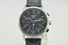 Longines Flagship Heritage Automatic Chronograph Stainless Mens Watch L27494