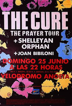 The Cure – 1989 San Sebastián