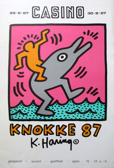 Keith Harring - Knokke - 1987