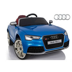 Audi RS5 CAR for kids with leather seats and rubber tyres, EVA + Sc