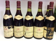 1982 Aloxe-Corton , Jean Bridron, Burgundy, France, 5 bottles 0,75l