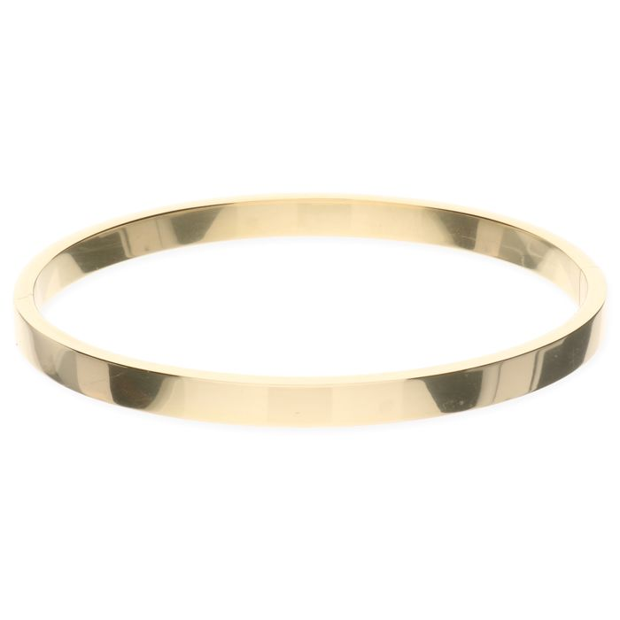 14 kt yellow gold slave bracelet - Inner size 60 mm