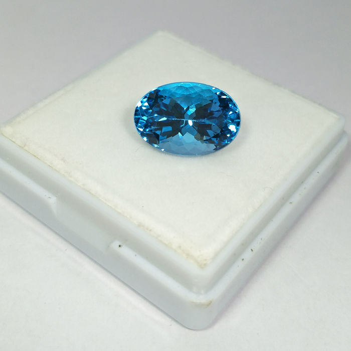 Swiss Blue Topaz - 10.33 ct