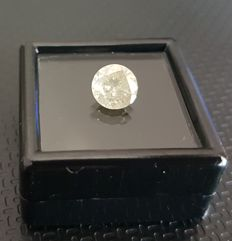 1.55 ct Round Yellow Diamond ** no reserve price **