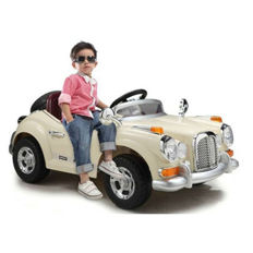 "Electric car for children RC ""Oldtimer BE28"" - 12V7AH battery"