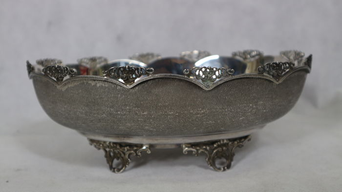 Bowl centrepiece/candy bowl 800 silver