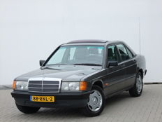 Mercedes Benz - 190D 2.5 5 cylinder - 5-speeds - 1986 - Sliding roof