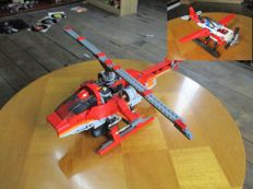 Creator & Technic - 4895 + 8046 - Motion Power +  Helicopter