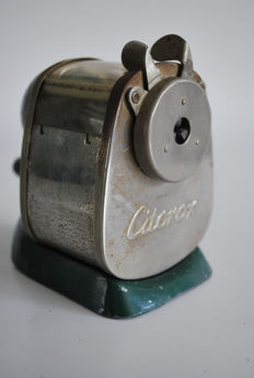 Antique pencil sharpener, table model, Citorox, around 1960, Germany