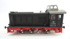 Lima H0 - 208236L  - Three-axle diesel locomotive BR V36 of the DB in black and red colour scheme and 'Rangierkanzel'