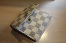 Louis Vuitton – coin purse D'Azur canvas