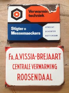 Stigter + Messemaeckers - and Vissia- Brejaart - approx 1950/60s
