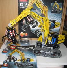 Technic - 42006 - Excavator + Power Functions Motor set