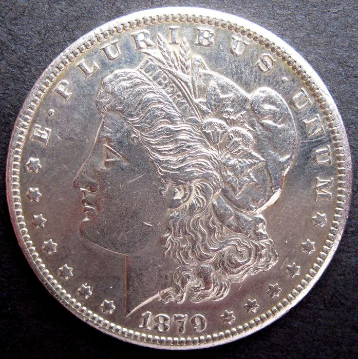 "United States - 1 dollar ""Morgan"" 1879 S - silver"