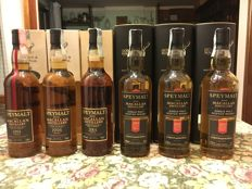 6 bottles - Macallan Gordon & Macphail - vintages 1991, 1996, 2001, 2005, 2006, 2007
