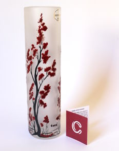 L. Canal - Red Trees Glass