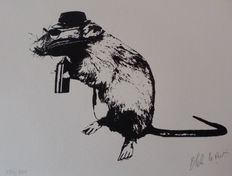 Blek le rat - The Street Artist's Paraphernalia