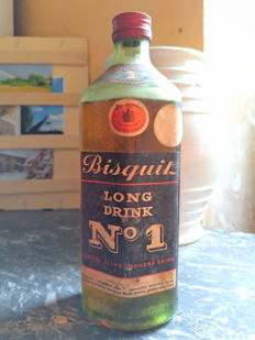Cognac Bisquit 'Long Drink No.1' - Bottled 1950s/60s