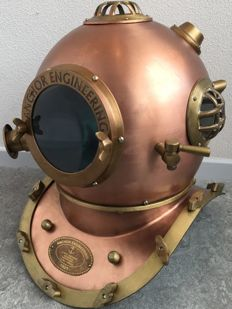 Anchor Engineering diving helmet.