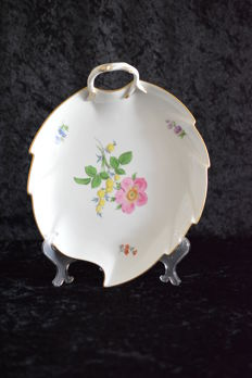 Meissen Germany - Leaf dish - exceptionally large