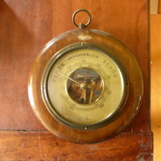 German. Barometer from a Luftwaffe base or a nearby building - WW2