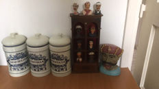 Lot of 14 apothecary pieces