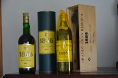 "2 Bottles  -  old brandy gran reserva ""1885"" 70cl 40%vol   -   old ""1866"" brandy gran reserva Larios  40% 70cl"