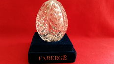 Faberge crystal egg