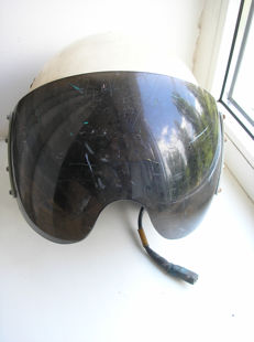 Original Russian( СССР/USSR ) Protective helmet. Aircraft of the Air Force. 3Sh - 5A supersonic fighters MiG-29.