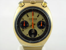 Citizen Bullhead Vintage Flyback Chronograph Ref: 67-9020 - Men's watch - 1970s