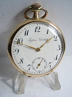 Système Glashütte, pocket watch from 1921