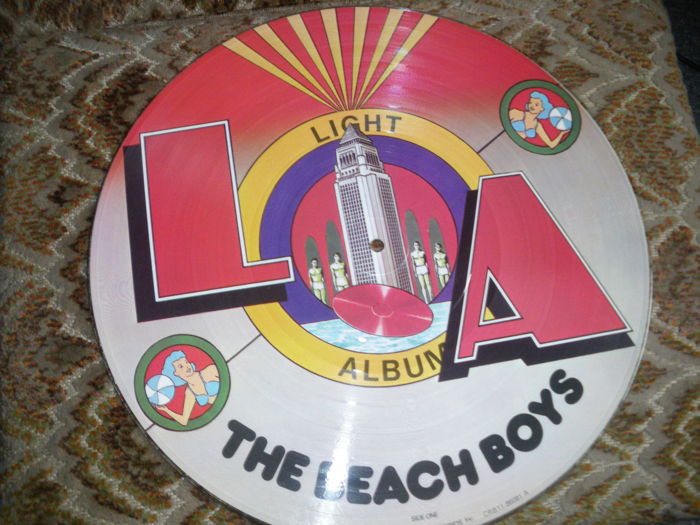 Lot of 8   12'' Picture discs including Yardbirds, The Beach Boys, Roxy Music and more
