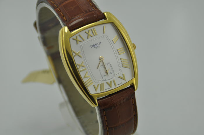 Tissot Quartz Movement 18K Solid Gold Men's Watch