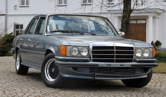 Mercedes-Benz - W116 SE 450 S-class AMG package - 1973