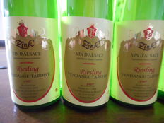 1997 Riesling Vendanges Tardives - Pierre Paul Zink - 6 flessen 75 cl.