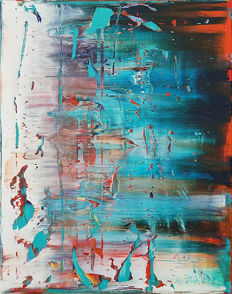 M.Weiss - Abstract Painting N.466