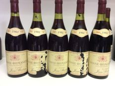 1982 Vosne-Romanee , Jean Bridron, Burgundy, France, 5 bottles 0,75l