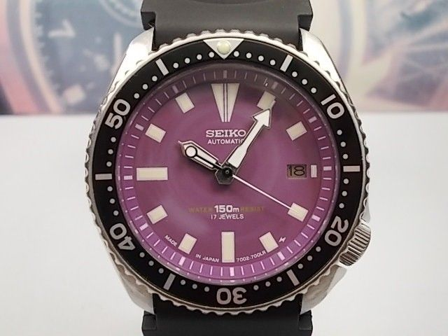 Seiko — PLUM Diver — 7002 700A — Men — 1990-1999