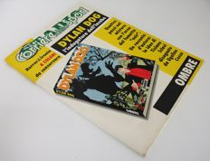 "Dylan Dog - portfolio ""Ombre"" folder with 4 lithographs + 4 booklets (1992)"